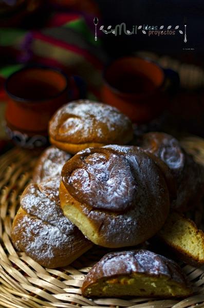 cómo preparar pan muerto