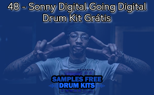 48 - Sonny Digital Going Digital Drum Kit Grátis