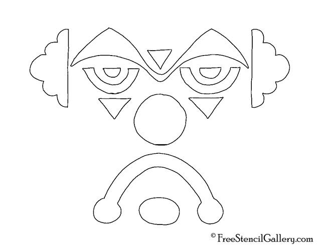 Free printable disney jack-o-lantern pattern stencils