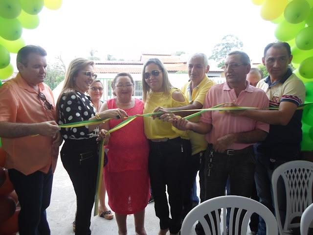 Prefeitura de Anapurus comemora o Dia da Mulher e inaugura o C.E. José Pires Monteles.