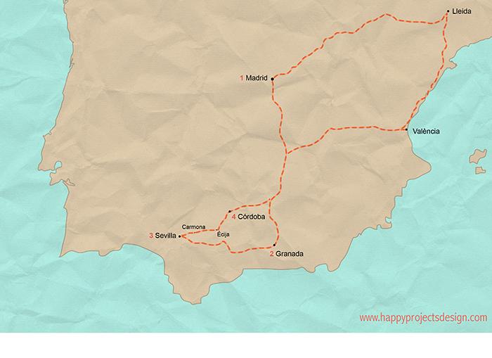 España: Ruta Sur
