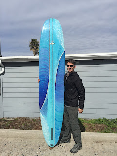 Hand shaped surfboards made in the USA by Paul Carter