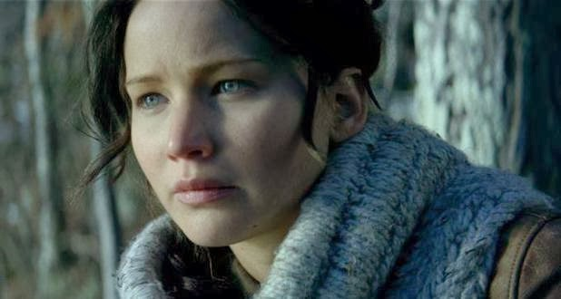 Katniss Everdeen in Forbideen District 12 Forest