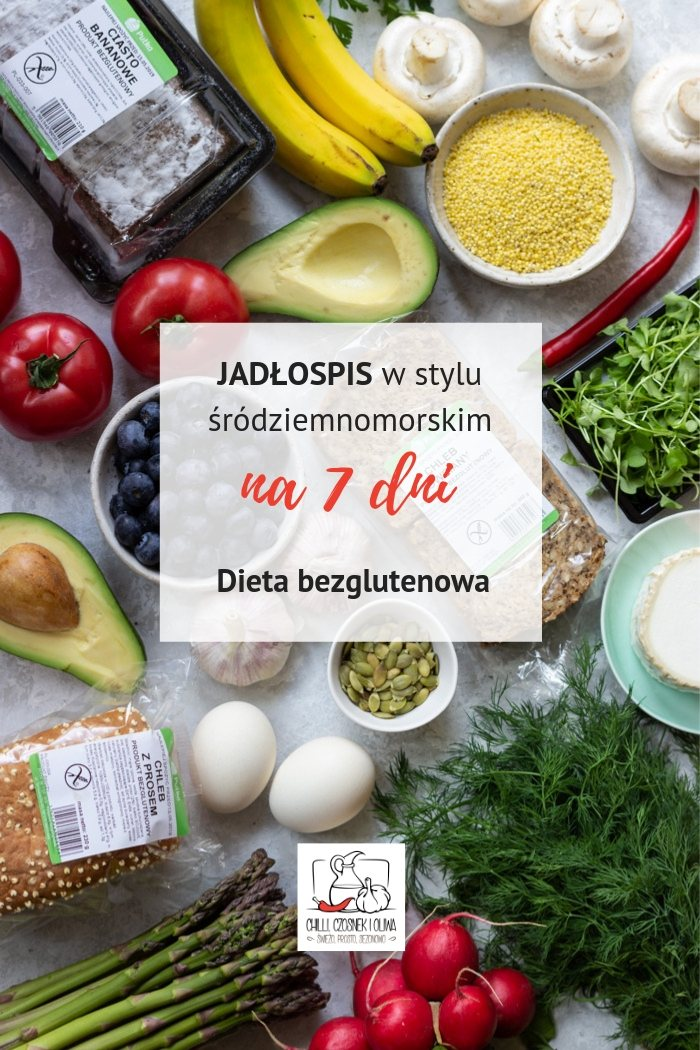 Dieta bezglutenowa – jadłospis na 7 dni