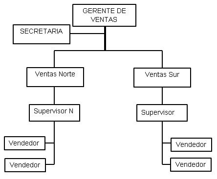 organigrama especifico