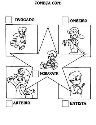 Atividades para Dia do Trabalho - Educação Infantil