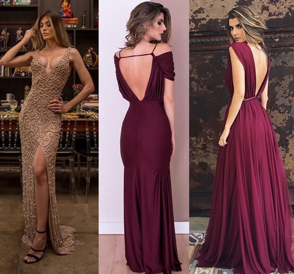 vestido de festa madrinha 2018