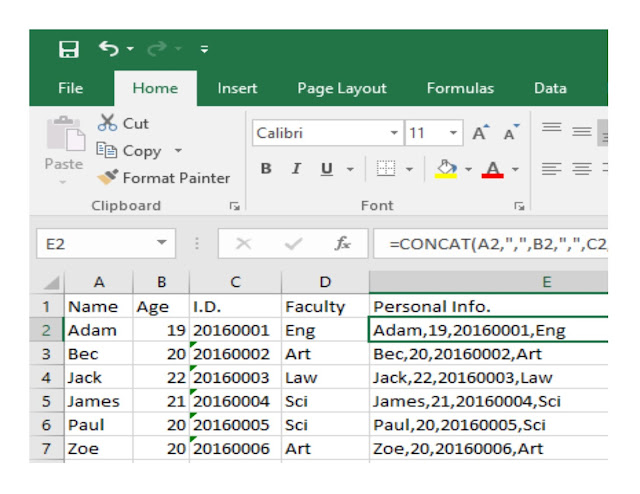 Windows And Office Excel Text Functions I
