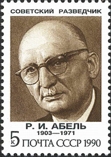Fisher/Abel (Soviet stamp)