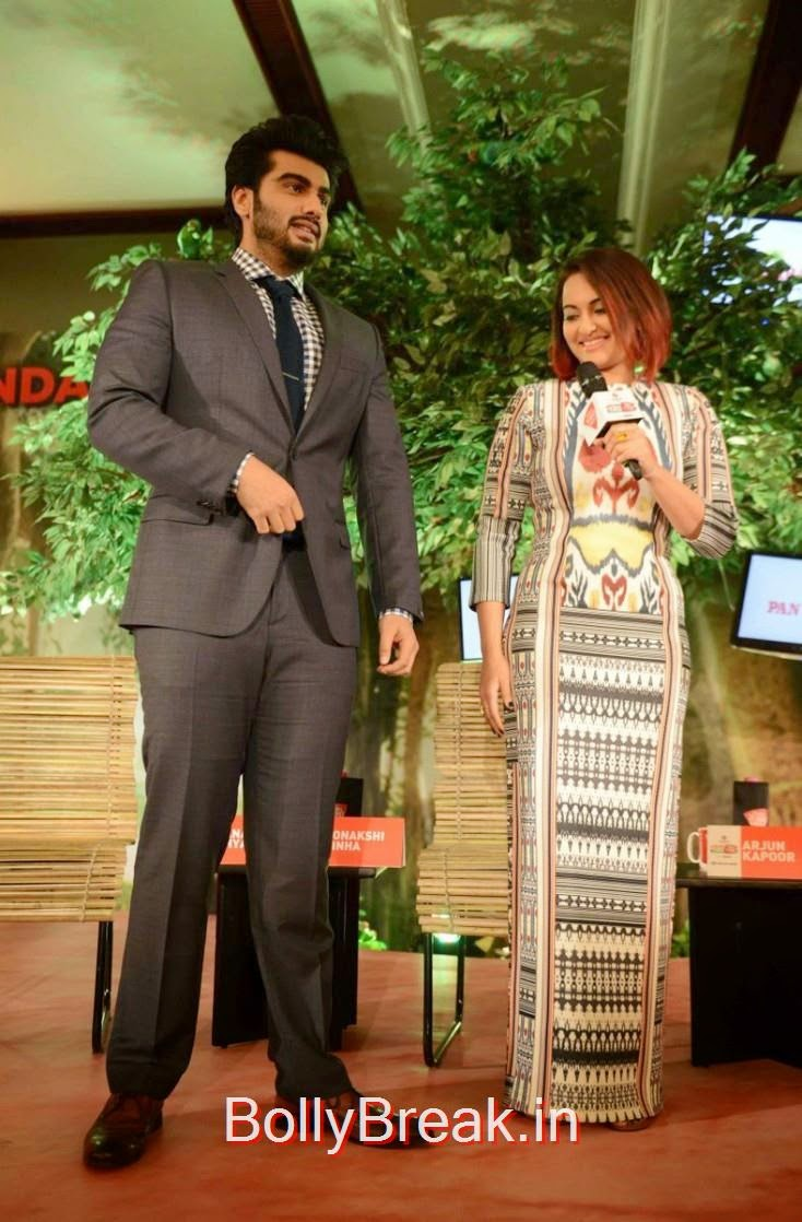 """Sonakshi Sinha: """"Wow Arjun, what a nice suit. The shoes are the best though."""""""