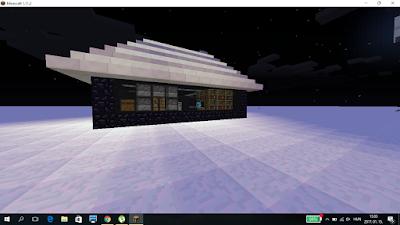 minecraft ház