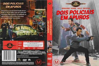 Filme Dois Policiais em Apuros (Running Scared) 1986 DVD Capa