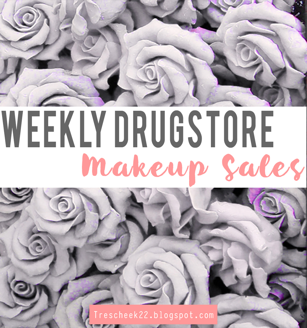 Weekly Drugstore Makeup Sales