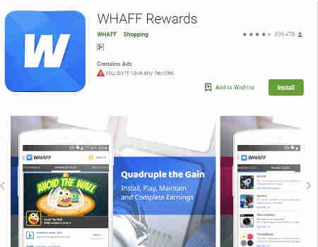 whaff aplikasi penghasil uang di android