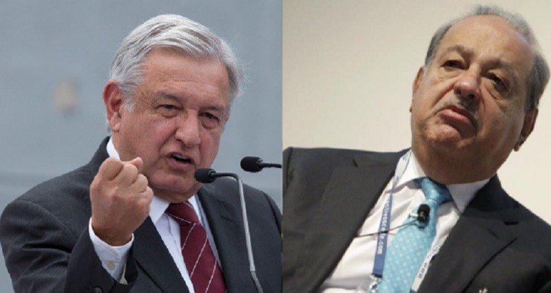 Slim advierte que si AMLO pierde habrá inestabilidad económica y devaluación