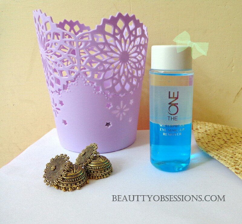 Oriflame The One Waterproof Eye Makeup Remover Review Beauty