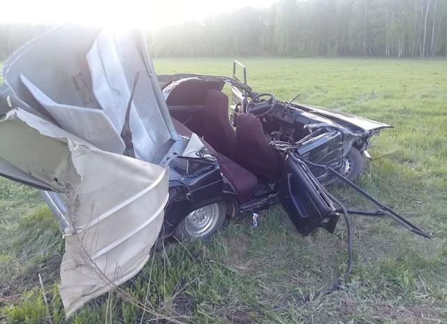 В Мечетлинском районе «легковушка» столкнулась с грузовиком