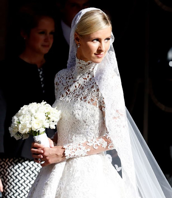 Nick Hilton vestido de noiva, irmã da Paris Hilton