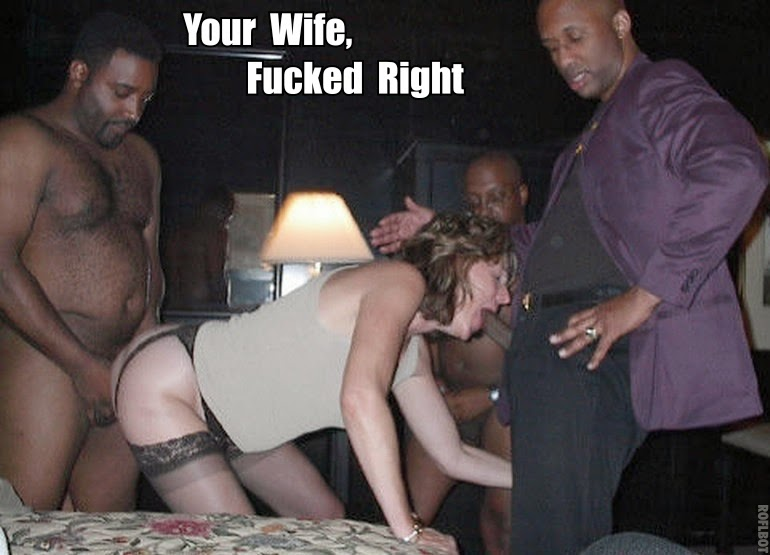 My wife fucks niggers