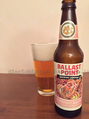 Ballast Point Sculpin IPA Grapefruit Scalpin IPA birra blog birra artigianale recensione diario birroso