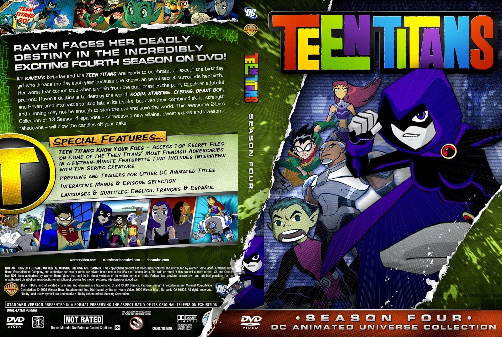 Los Jovenes Titanes  Teen Titans Todas Las Temporadas -7467