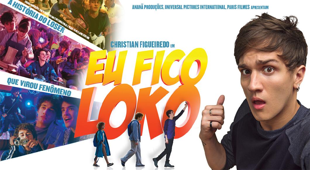 5 motivos para ver Eu Fico Loko - O Filme, baseado no livro e na adolescência do youtuber Christian Figueiredo