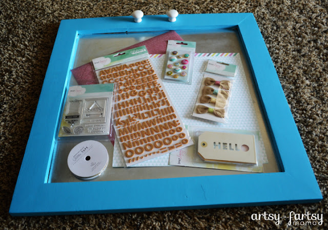 DIY Inspiration Board with Dear Lizzy 5th & Frolic products