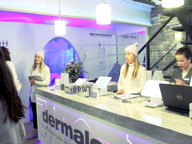 Inside the Dermalogica Chalet in Toronto