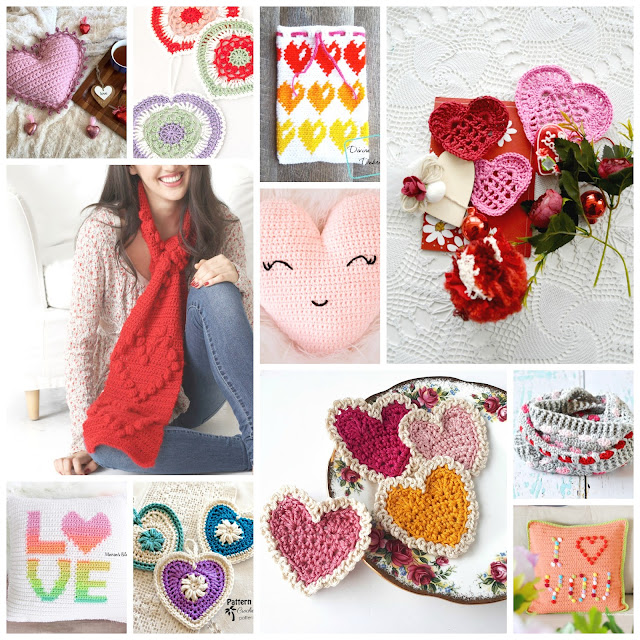 Crochet Valentine's Projects for You to Try