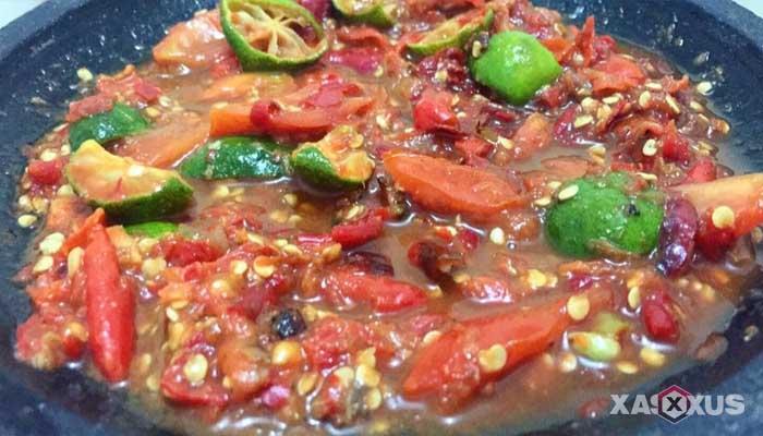 Resep cara membuat sambal mentah