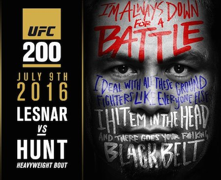 Poster Of UFC 200 PPV Lesnar vs Hunt 10th July 2016 750MB HDTV 480p x264 Free Download Watch Online Worldfree4u