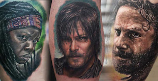Tatuajes de The Walking Dead