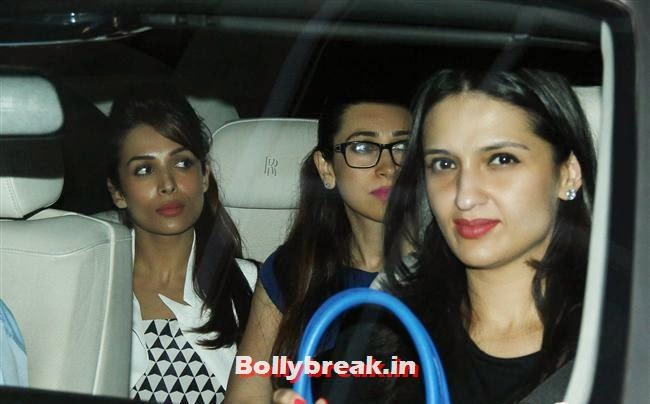 Malaika Arora, Karishma Kapoor and Anu Deewan, Alia Bhatt, Sonakshi Sinha at Special Screening of 2 States