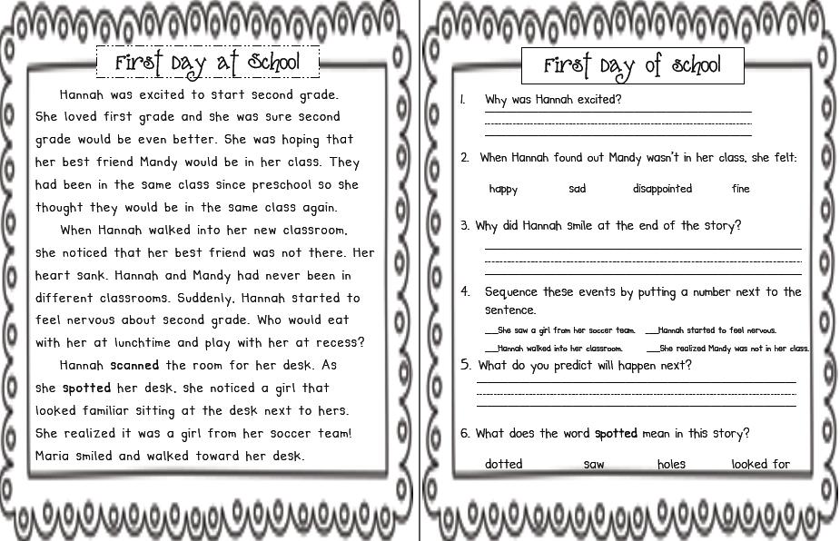 Stories For First Grade - Laptuoso