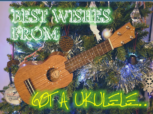 christmas tree ukulele