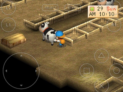 Harvest Moon Back to Nature ISO PS1 di Android