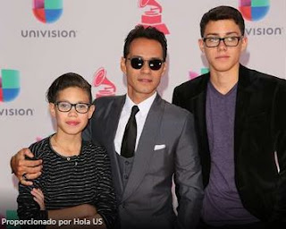 Marc Anthony hijos