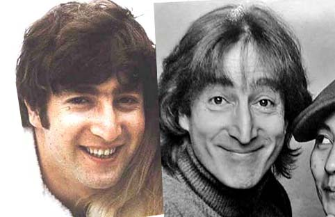 John Lennon Had A Particular Idiosyncratic Stance He Assumed When Played Live The Impostor Failed To Assume That Position Which Some Consider Be