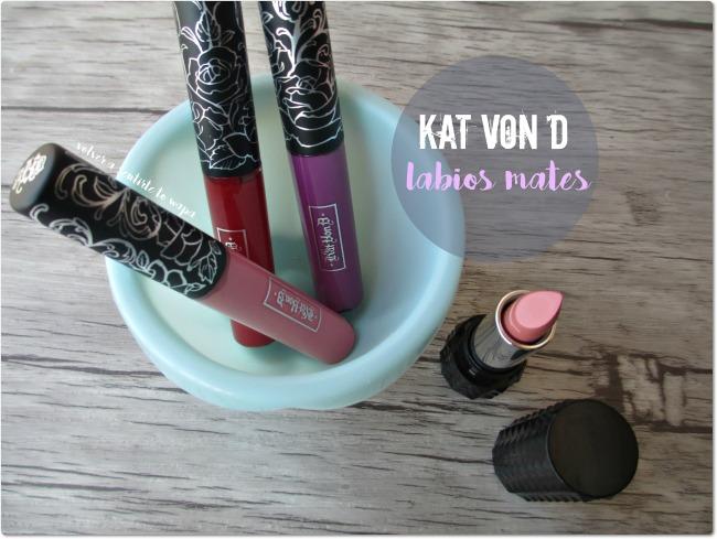 Labiales & Glosses KAT VON D