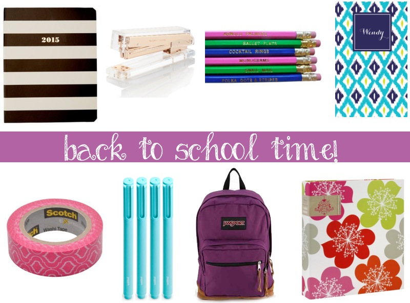 Fashionable Heart | Back to School Supplies