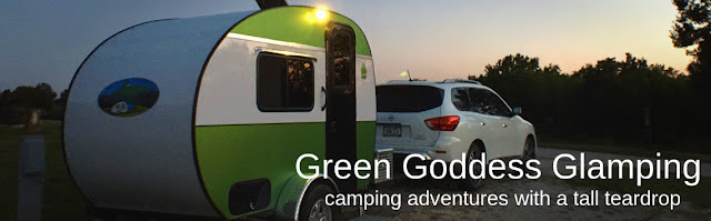 Camping with a teardrop or tiny trailer has many advantages not available with larger RVs.