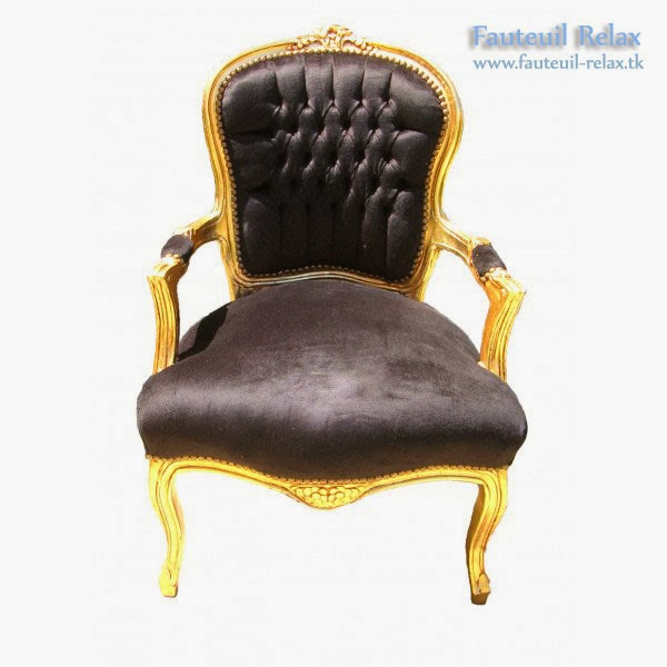 fauteuil baroque de style louis xv fauteuil relax. Black Bedroom Furniture Sets. Home Design Ideas
