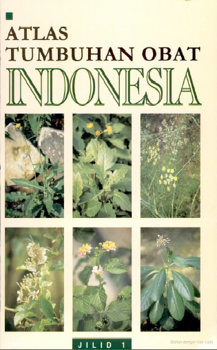 Atlas Tumbuhan Obat Indonesia jilid 1