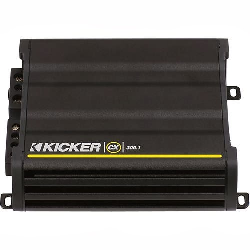 Amplifier Kicker - CX Series 300W Class D Mono