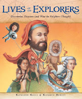 Lives of the explorers by kathleen krull book cover biography