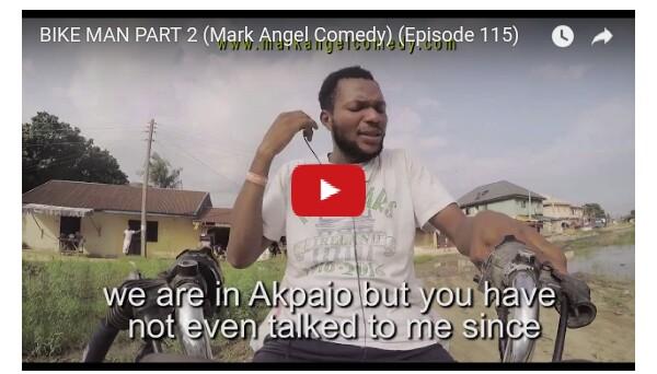 Emmanuella x Mark Angel Comedy episode 115 - BikeMan 2