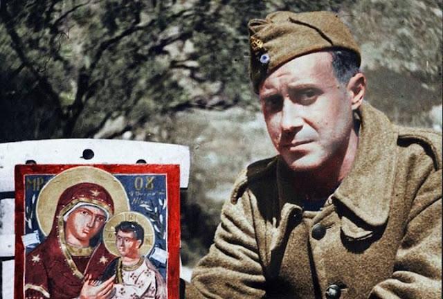 Η διάσημη εικόνα που ζωγράφισε  ο Γιάννης Τσαρούχης στο Αλβανικό Μέτωπο μετά το όραμα ενός στρατιώτη