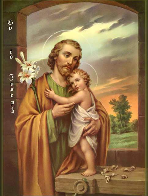 Saint Joseph the foster father of Jesus