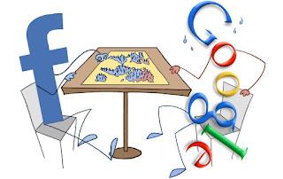 Beriklan di Google dan Facebook
