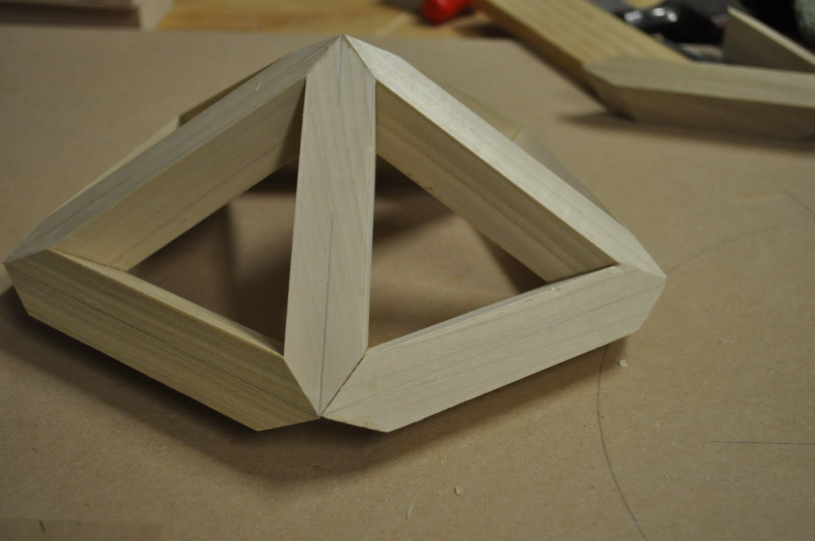 Roof Framing Geometry Making A Wood Polyhedron Or Wooden